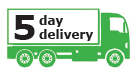 5 day delivery