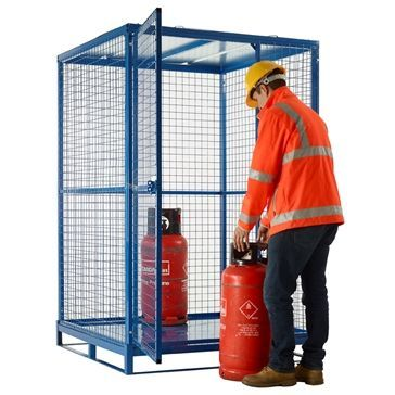 knock down cylinder cage