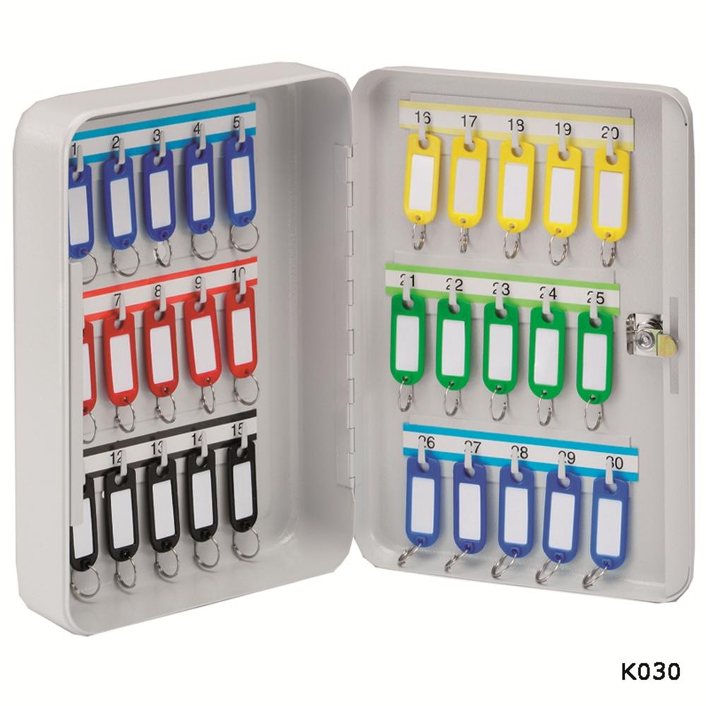 30 Hook Key Cabinet