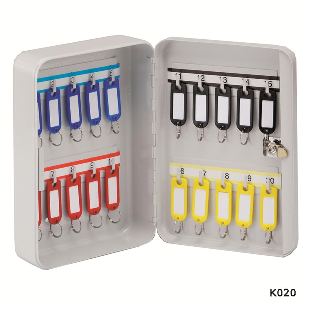 20 Hook Key Cabinet