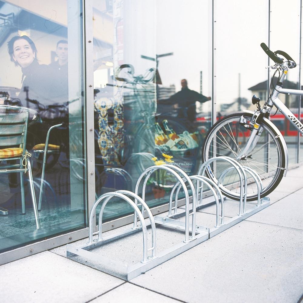Hi-Hoop cycle Rack