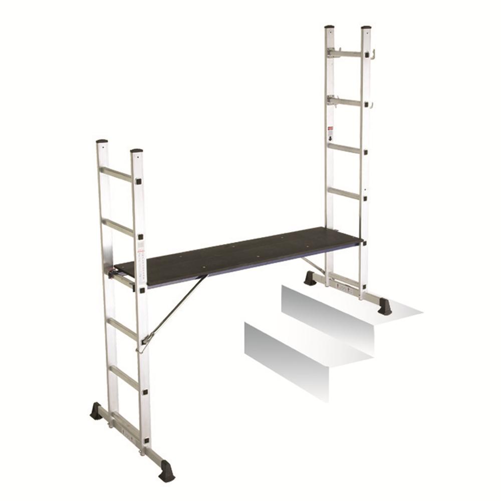Combination stepladder