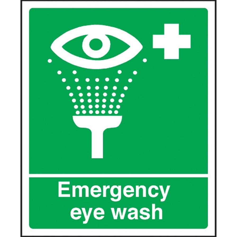 Eye Wash Station Sign