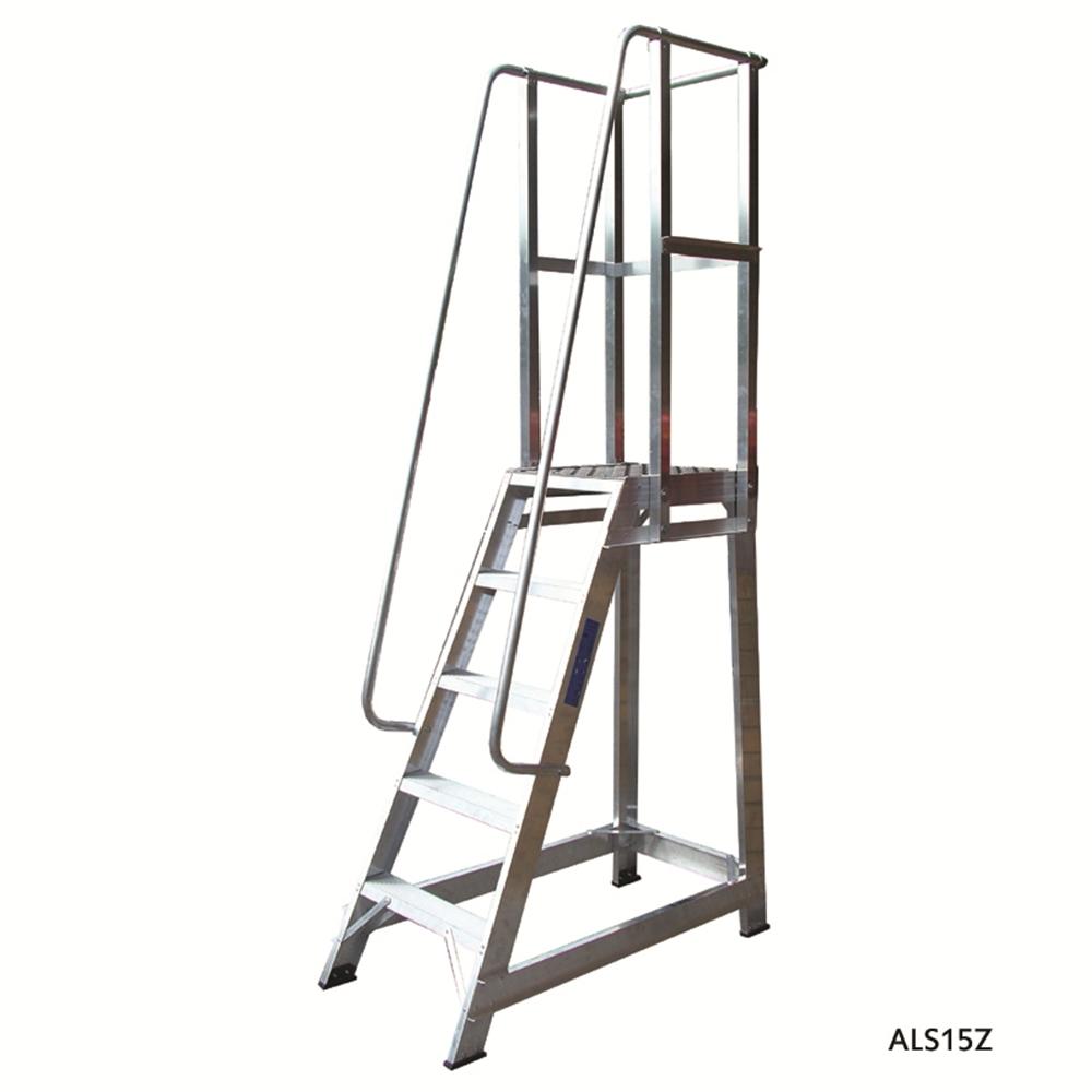 Aluminium Trade Stepladder