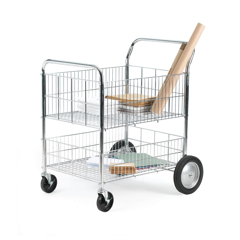 Chrome Plated Wire Trolley