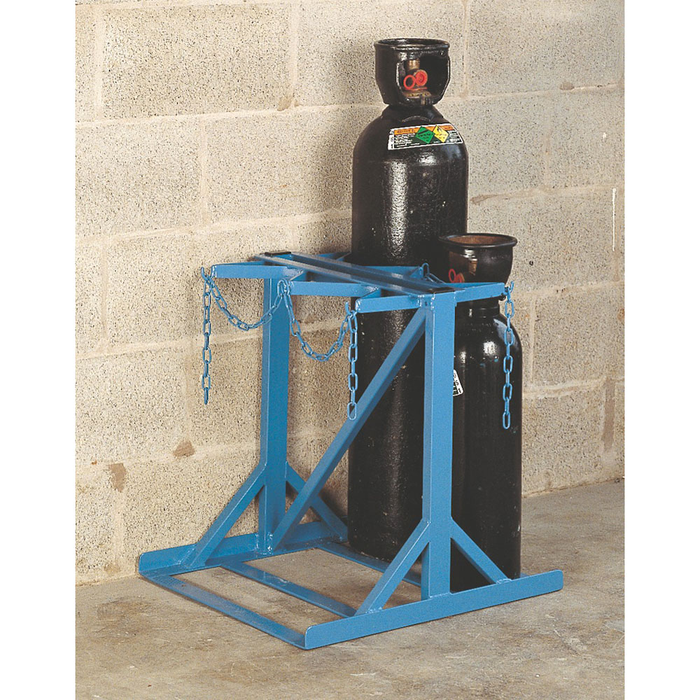 Cylinder Storage Low height stand