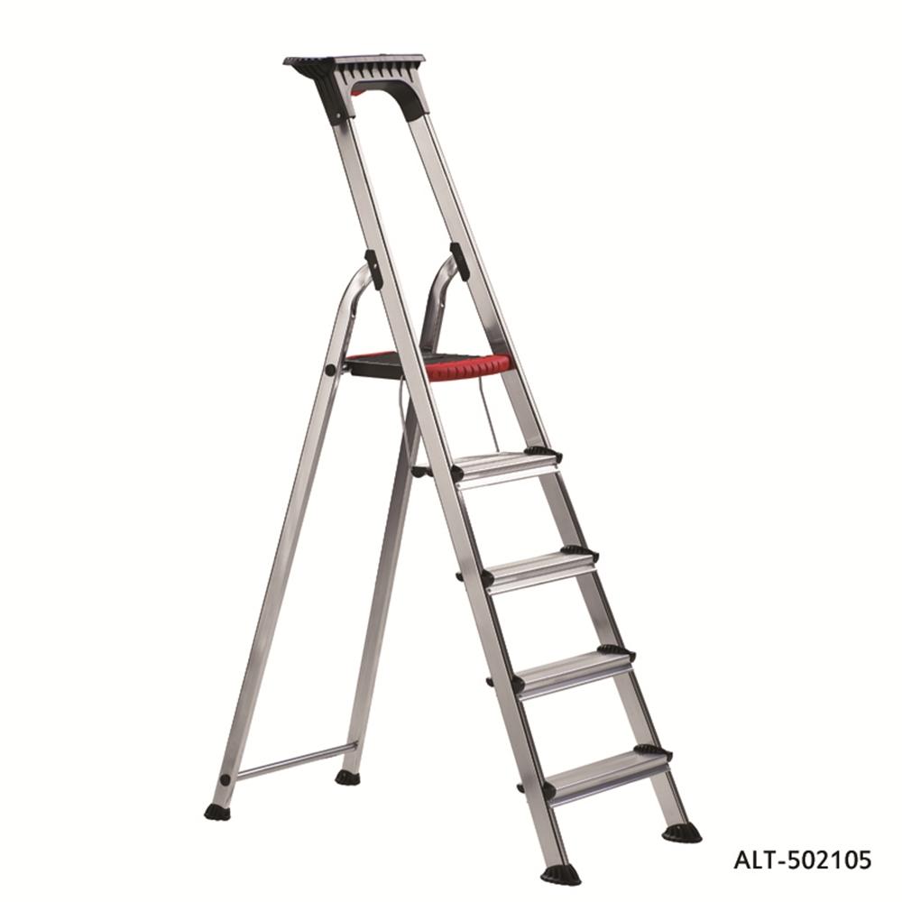 Double decker aluminium folding steps