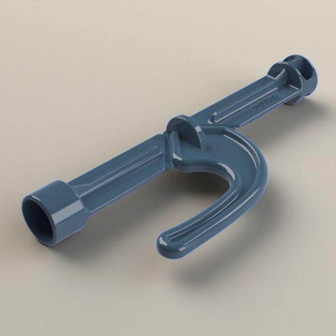 metal detectable break out bolt