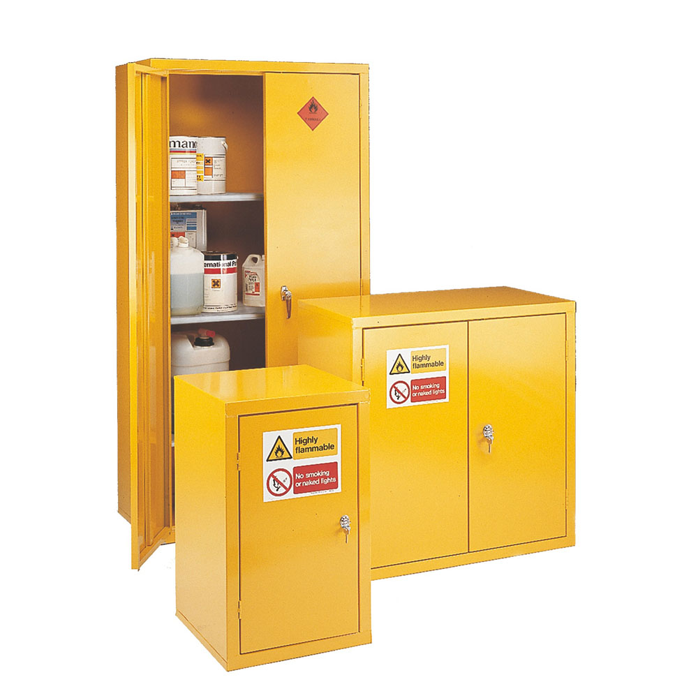 Storage cabinets Highly Flammable