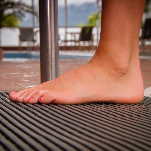 Heronrib Wet Area Non Slip Mat Per Metre