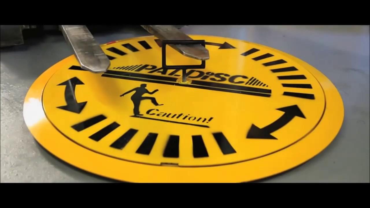 Industrial Pallet Turntables