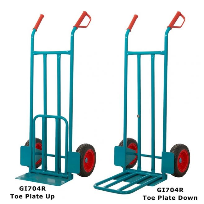 eavy Duty Sack Truck with Puncture Proof Wheels