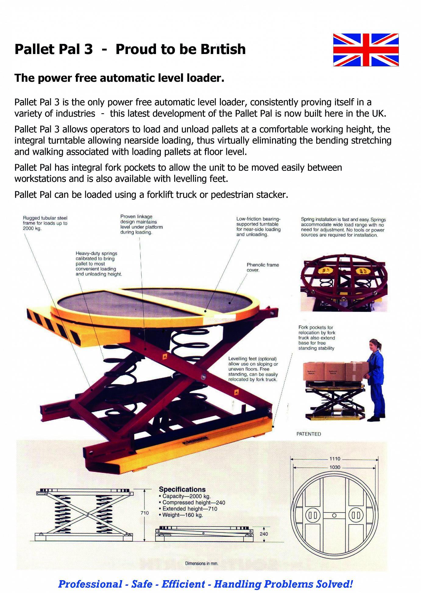 Pallet Rotator