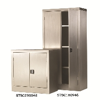 Stainless Steel Cupboards & Floor Chests
