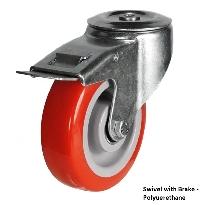 Bolt Hole Medium Duty Castors