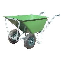 Large heavy duty wheelbarrow