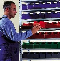 Polypropylene bins