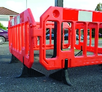 Traffic Line - Blow Moulded Barriers