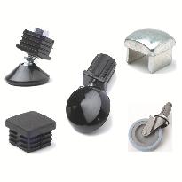 square tube accessories