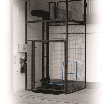 Mezzanine Floor Lift Fully Enclosed Self-Supporting Outdoor