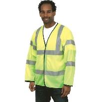 Long sleeve waistcoat