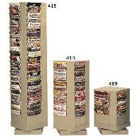 Rotary Literature Racks