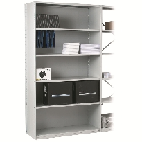 Stormor solo shelving clad back