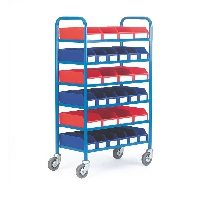 6 Shelf Container Trolley