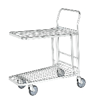 Folding Top Shelf Stock Trolleys