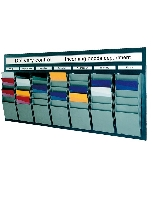 Cascading Document Display Racks