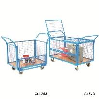 Mesh Security Trolleys