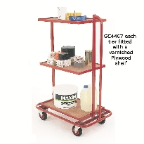 Three Tier Order Picking Trolleys