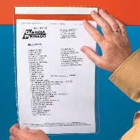 Magnetic document pocket