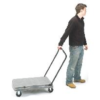 Plastic Platform Trolley - Foam Plastic