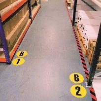 Floor identification markers