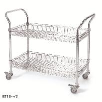 2 & 3 Tier Basket Trolleys