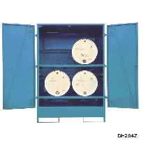 Fully Enclosed Drum Stores
