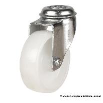 Light duty bolt hole castors