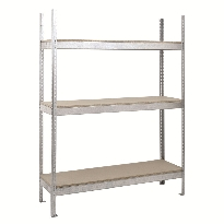 Heavy Duty Galvanised Shelving