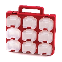 Small Parts Storage Carry Case