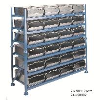 Steel Bin rack