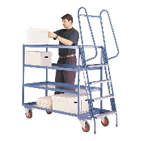 Heavy Duty Order Picking Trolley