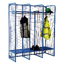 Heavy Duty Wire Mesh Storage Compartments