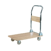 Wooden Deck Trolley