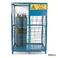 Cylinder Storage Lock Up Cages