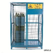 Cylinder Storage Lock Up Cages