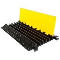 Large 5 cable protection ramp