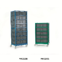 Mobile Racks with Containers