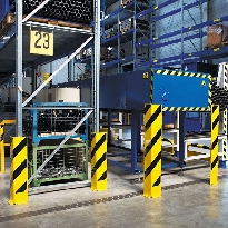 Traffic Line Heavy Duty Pallet Racking Protectors