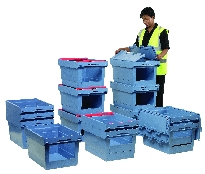 View & Pick Stacking Containers